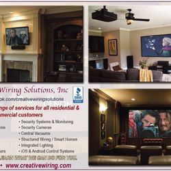 Creative Wiring Solutions - Get Quote - Home Theatre Installation ...