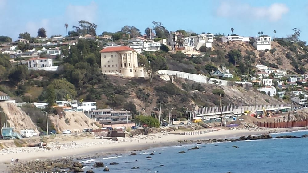 Exterior view from PCH - Yelp