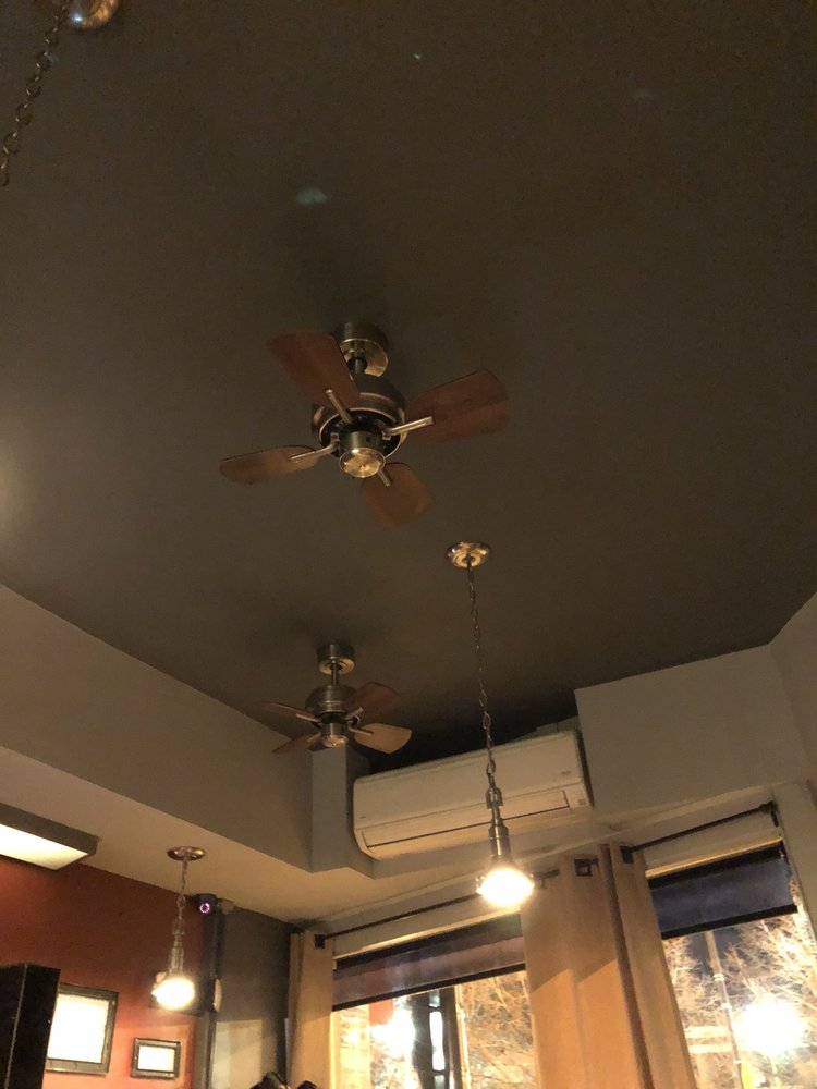Tiny ceiling fans yelp photo of libertad skokie il united states tiny ceiling fans aloadofball Images