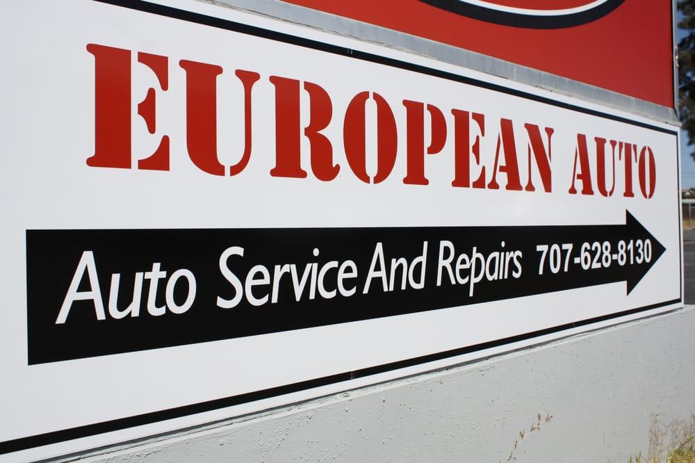European Auto: 1128 Western St, Fairfield, CA