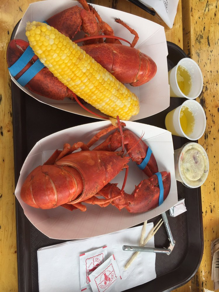 Boothbay Lobster Wharf: 97 Atlantic Ave, Boothbay Harbor, ME