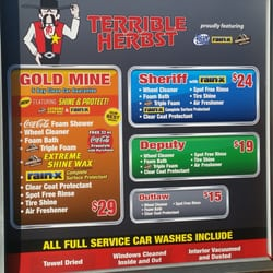 Terrible Herbst Full Service Car Wash