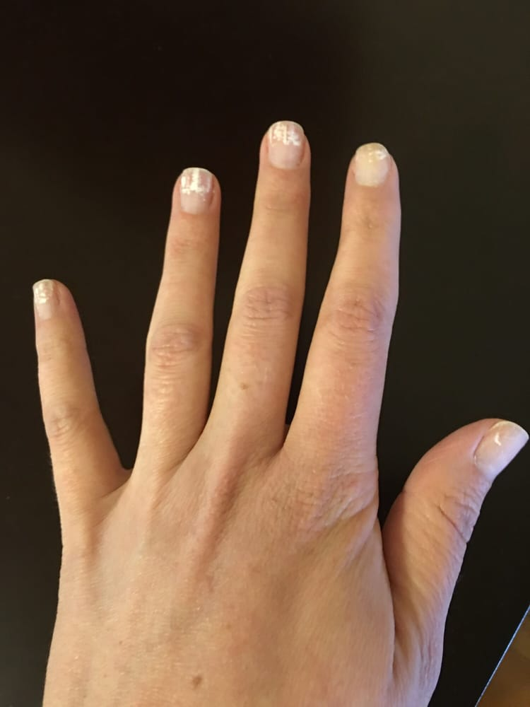 $17 for gel removal and cut and file...no clear polish or hand ...