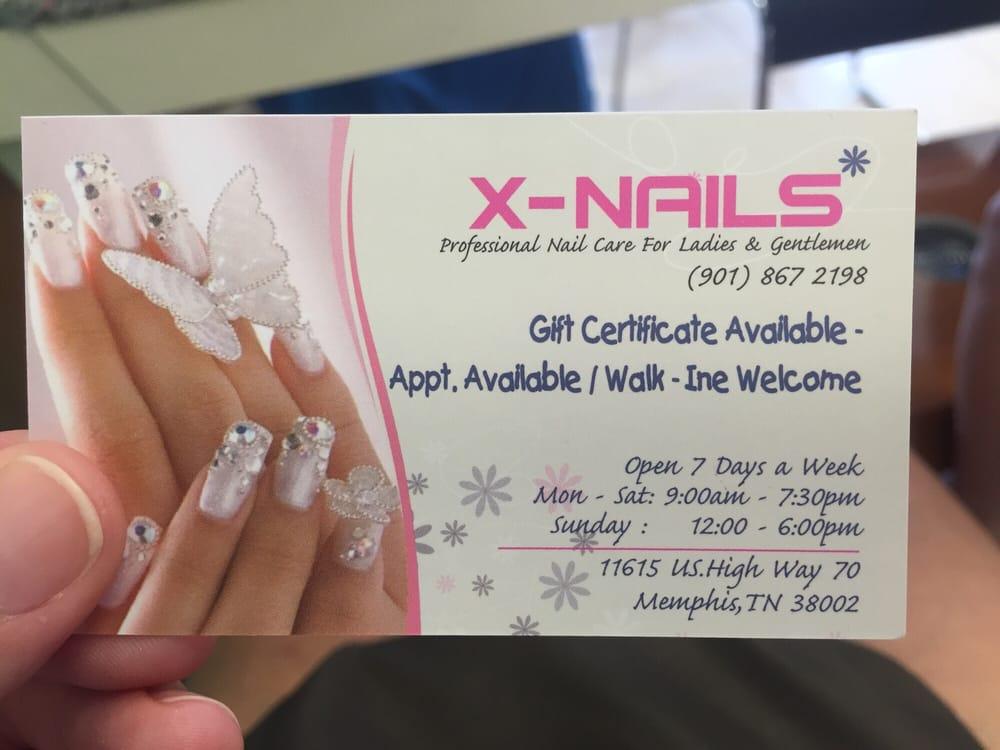 X Nails - Nail Salons - 11615 US Hwy 70, Arlington, TN - Phone ...