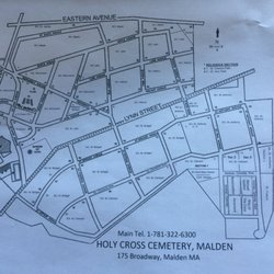Holy Cross Cemetery Funeral Services Cemeteries 175 Broadway