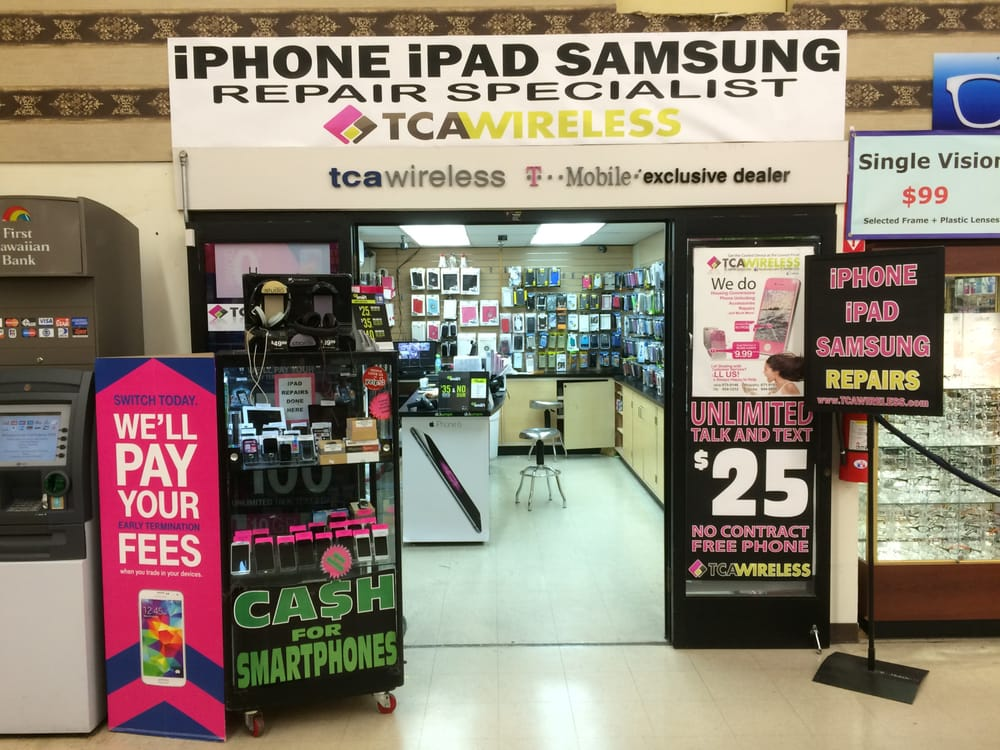 TCA Wireless iPhone iPad Samsung Repair Specialists