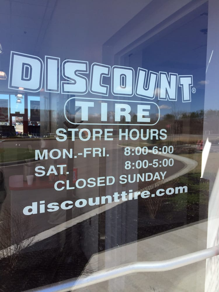 Discount Tire Store Hours >> Store Hours Yelp
