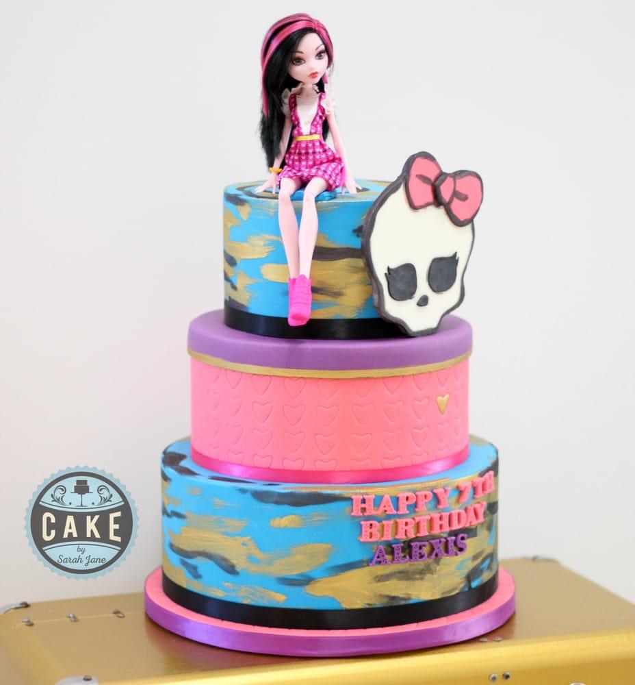 Monster High Birthday Cake Yelp