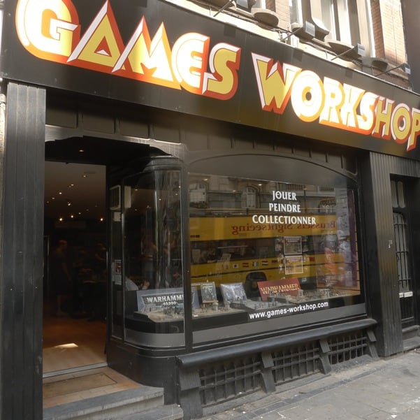 games workshop boeken tijdschriften muziek en video rue du lombard 10 centre ville. Black Bedroom Furniture Sets. Home Design Ideas