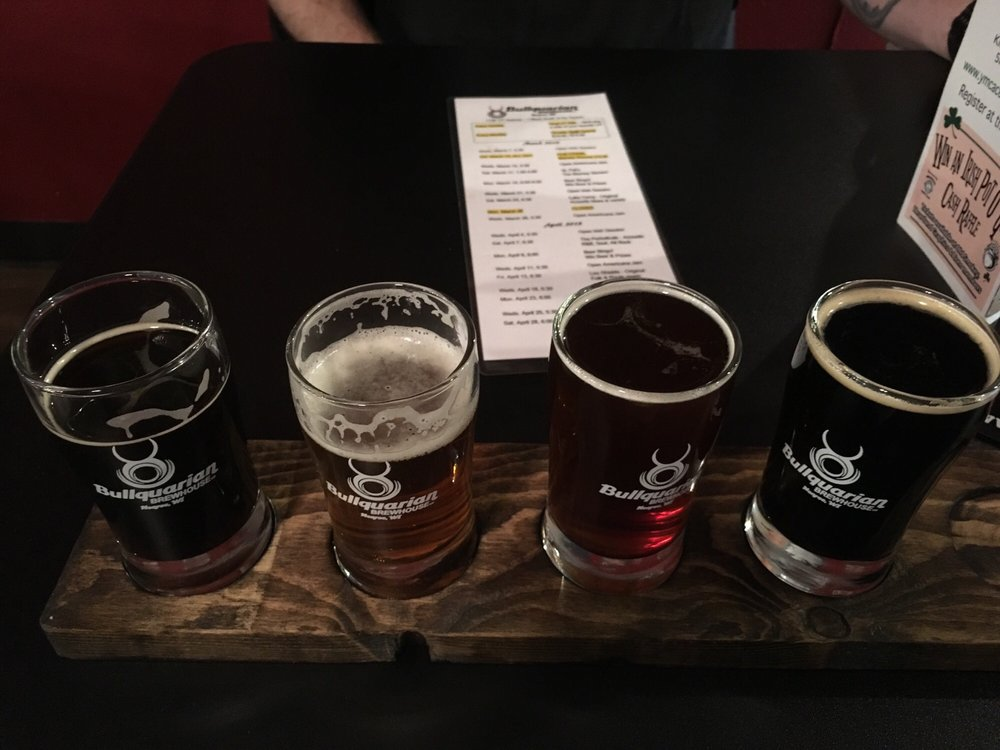 Bullquarian Brewhouse: 1128 17th Ave, Monroe, WI