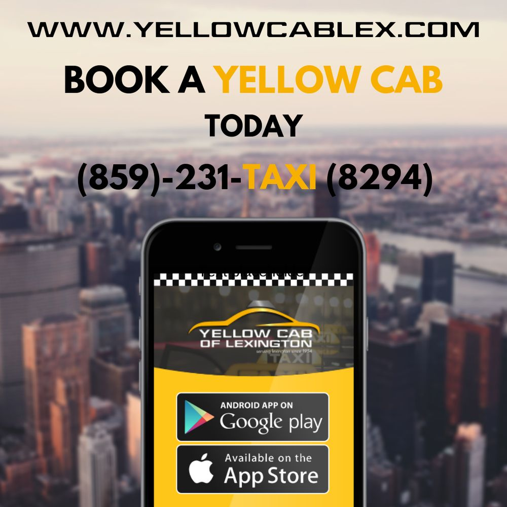 Yellow Cab Lexington: 207 East Reynolds Rd, Lexington, KY