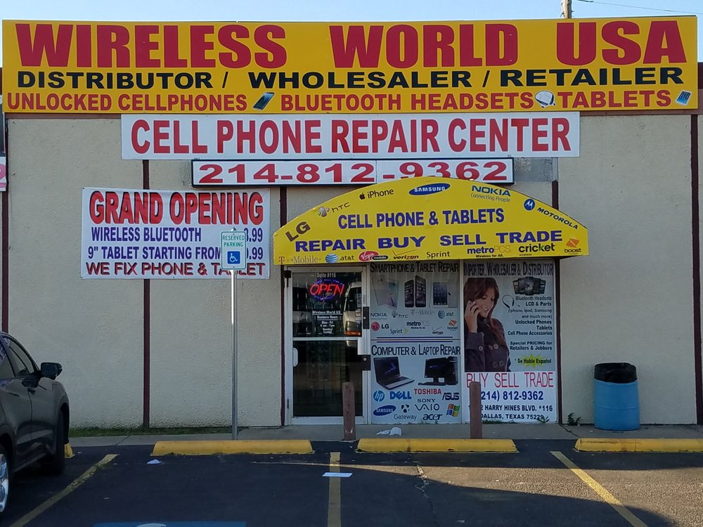Wireless World USA - Camera Repair - Mobile Phone Repair - Dallas ...