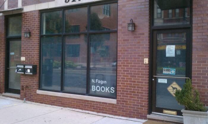 N. Fagin Books: 917 N Ashland, Chicago, IL
