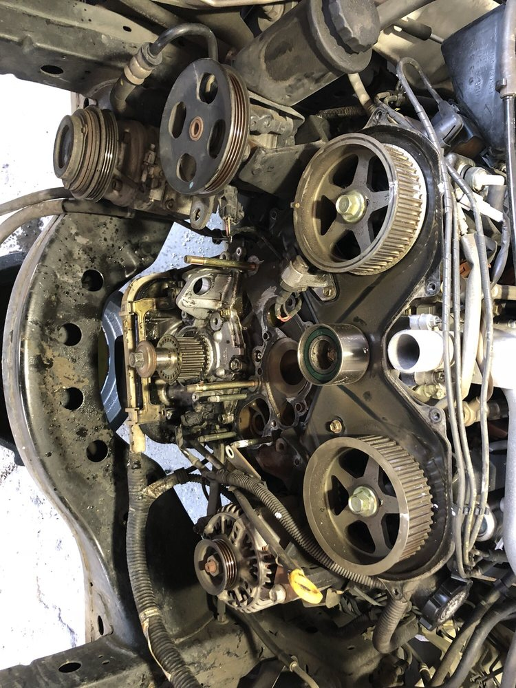 Tremendous 2001 Toyota Tundra 3 4 L Timing Belt Replacement Yelp Wiring Cloud Hisonuggs Outletorg