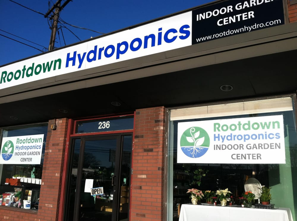 Rootdown Hydroponics Indoor Garden Center