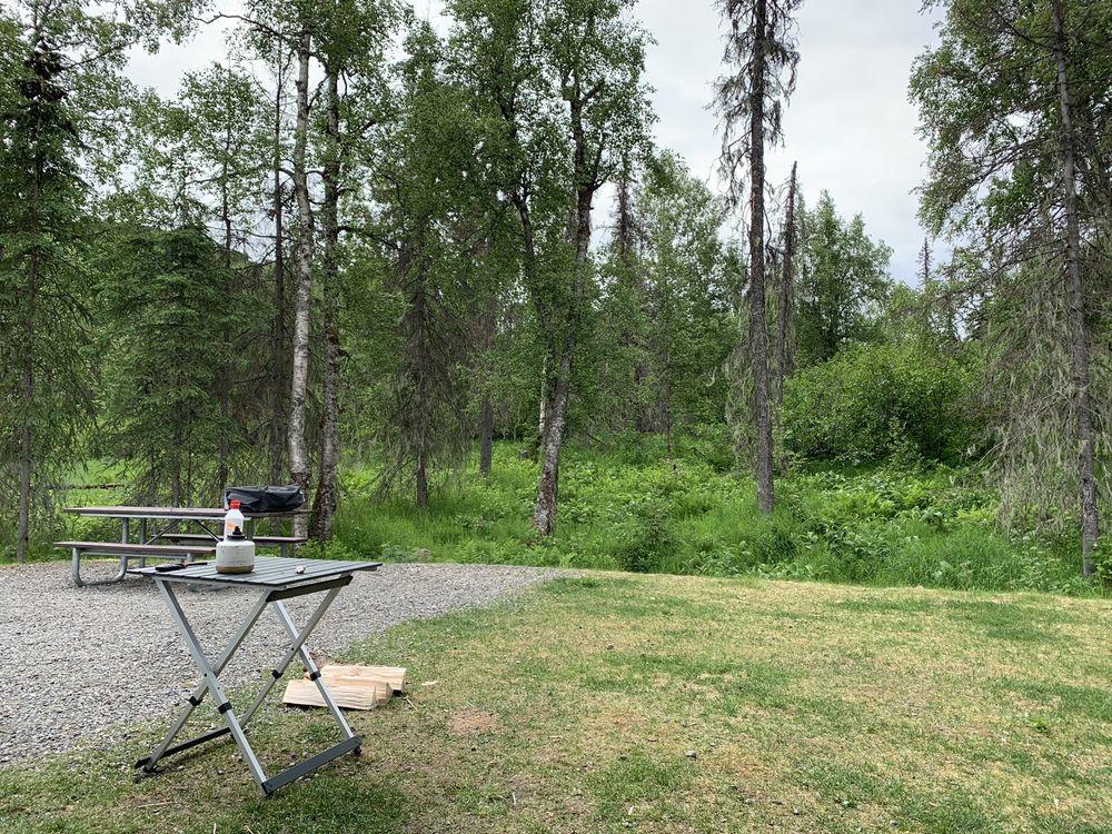 K'esugi Ken Campground: Trapper Creek, AK