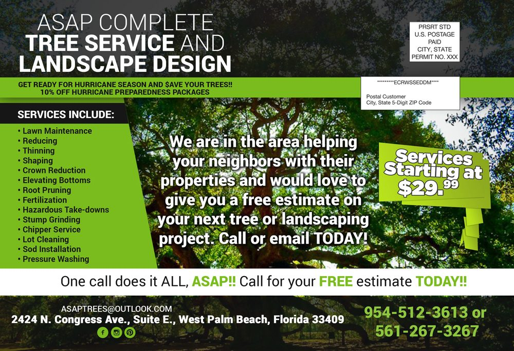 Asap complete tree service and landscape design 12 for Complete garden services