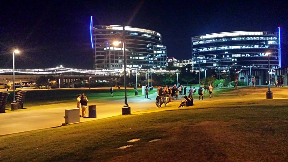 Tempe Beach Park Overrun By Pok 233 Mon Go Players Yelp
