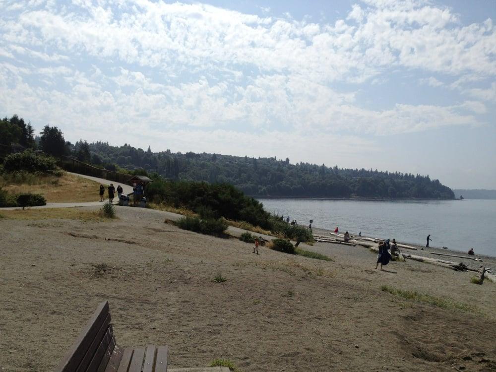 Richmond Beach Park Shoreline Wa