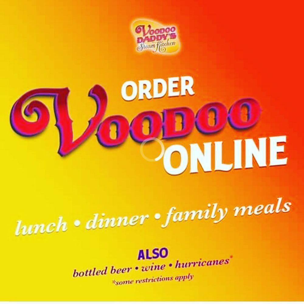 Food from Voodoo Daddy's Steam Kitchen