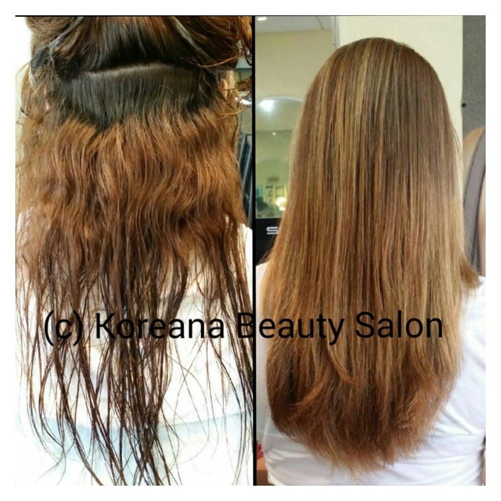 Best japanese straight perm - Photo Of Koreana Beauty Salon Santa Clara Ca United States Japanese Straight