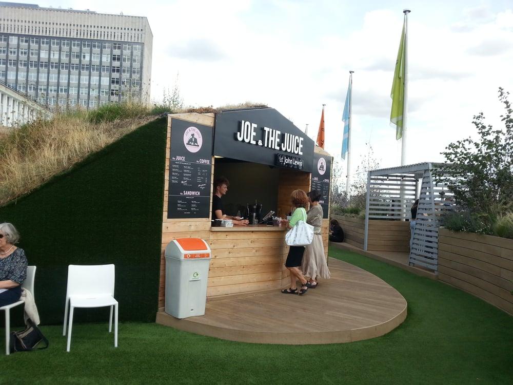 52a9027aaf39 Juice Bar, Oxford Street Roof Garden at John Lewis - Yelp