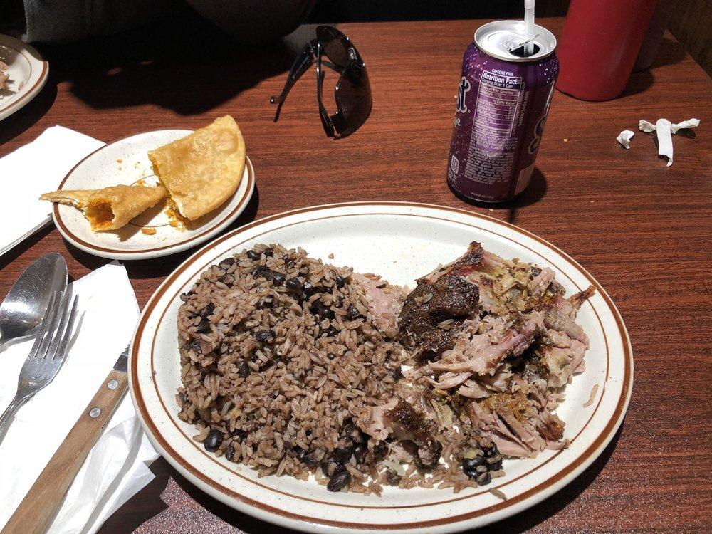 Food from Latin American Restaurant