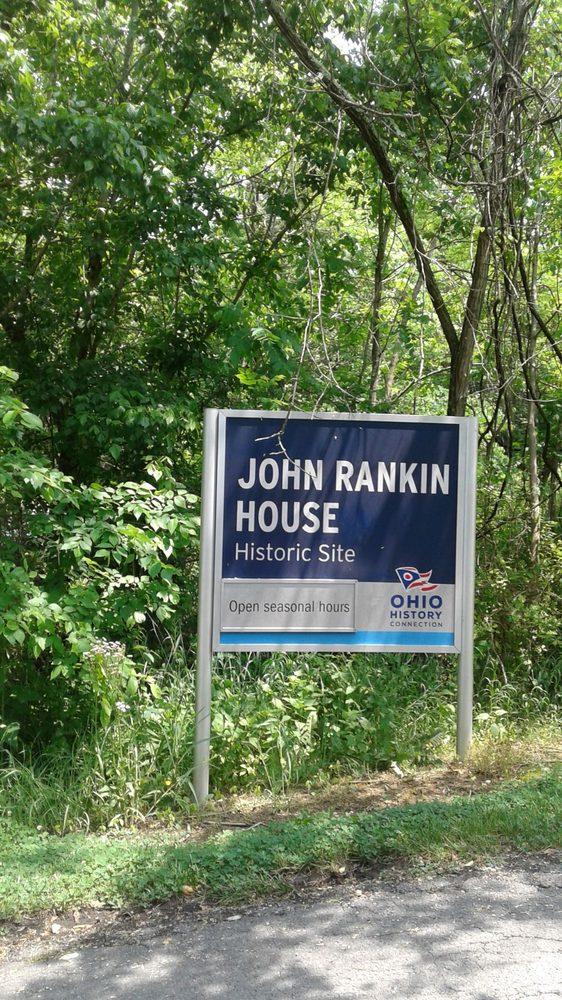 Rankin House State Memorial: 6152 Rankin Rd, Ripley, OH