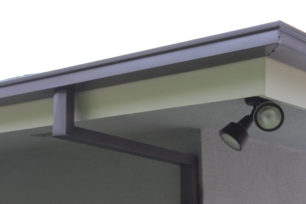 5 Inch Seamless Box Style Gutters With Smooth Custom