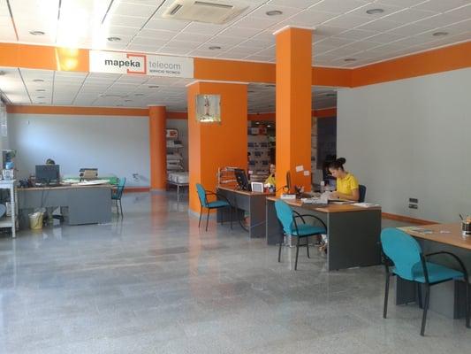 Mapeka telecom servizi televisivi calle enrique salas for Oficina de consumo murcia