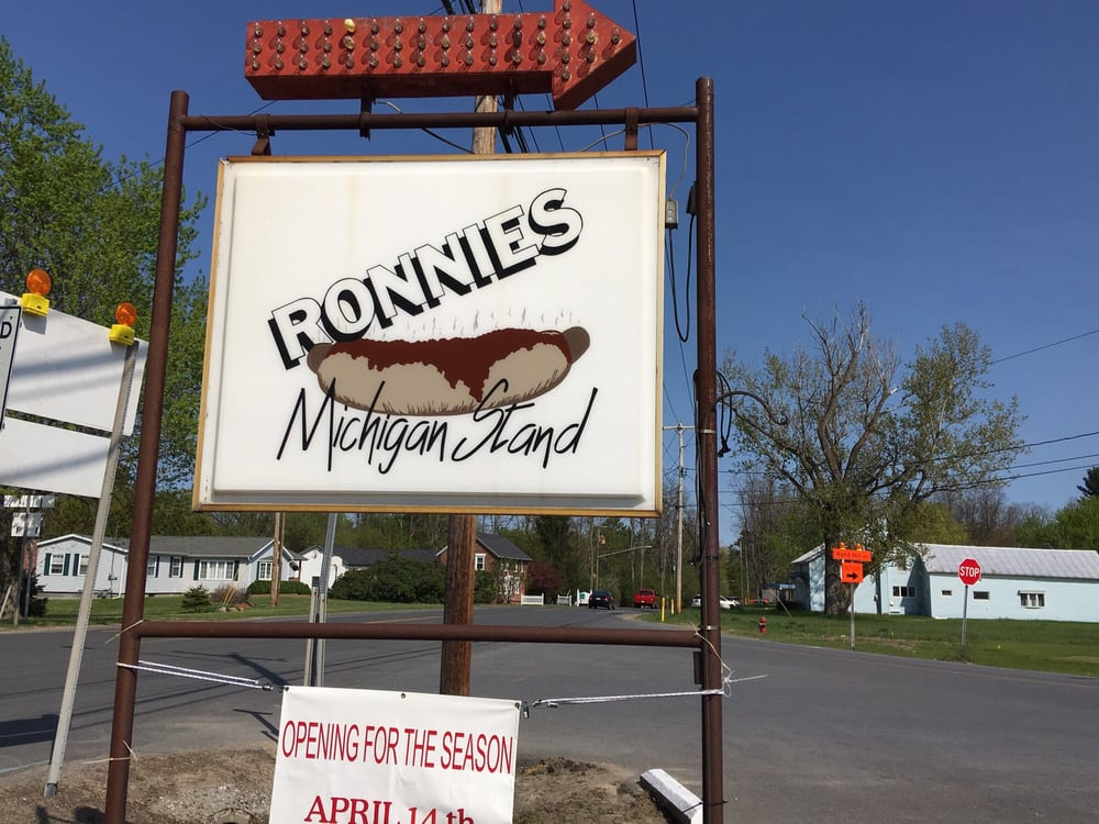 Ronnie's Michigan Stand: 1265 State Rte 3, Plattsburgh, NY