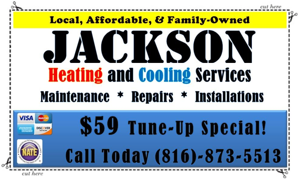 Jackson Heating and Cooling Services: Pleasant Valley, MO