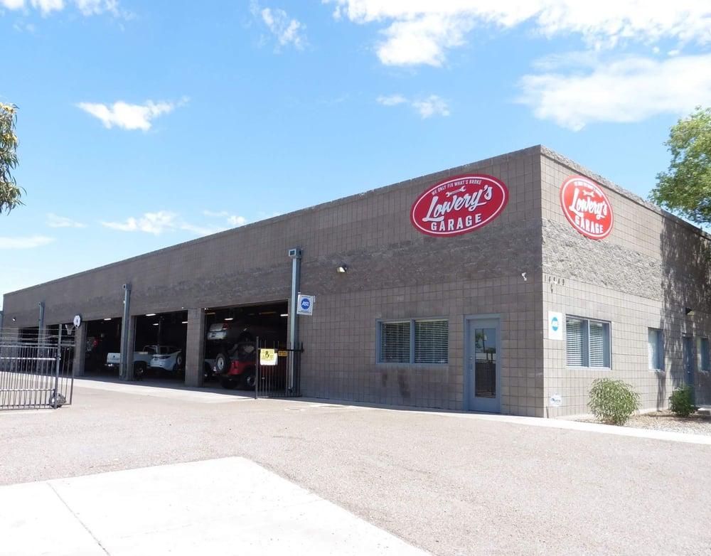 Lowery S Garage Auto Repair 14849 N Cave Creek Rd