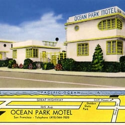 Photo Of Ocean Park Motel San Francisco Ca United States Postcard From