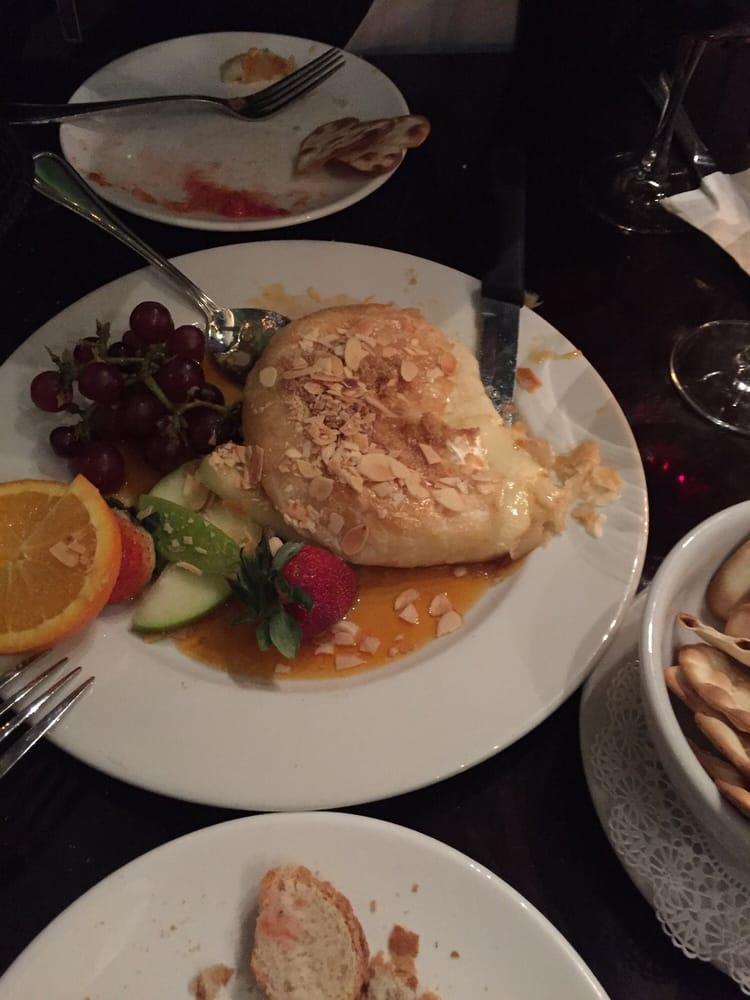 Cafe Brie Dinner Menu