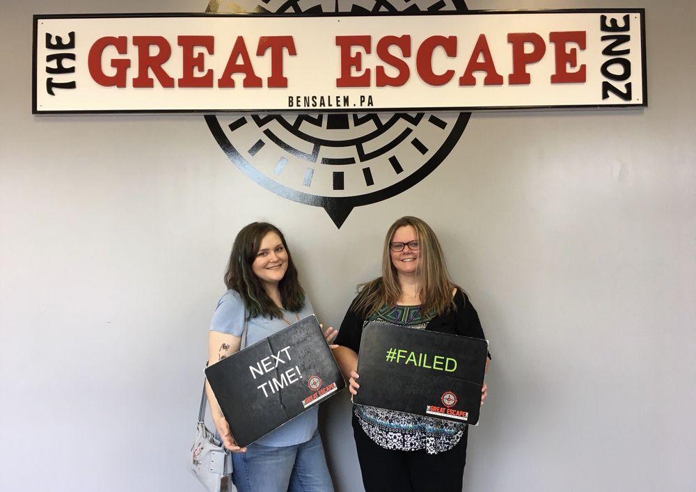 The Great Escape Zone: 2216 Street Rd, Bensalem, PA