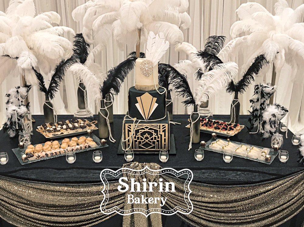 photo of shirin bakery tarzana ca united states great gatsby themed bridal