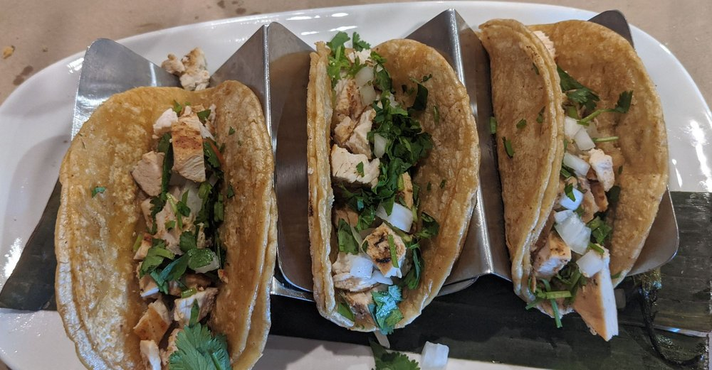 Food from Romero's Tacos and Tequila