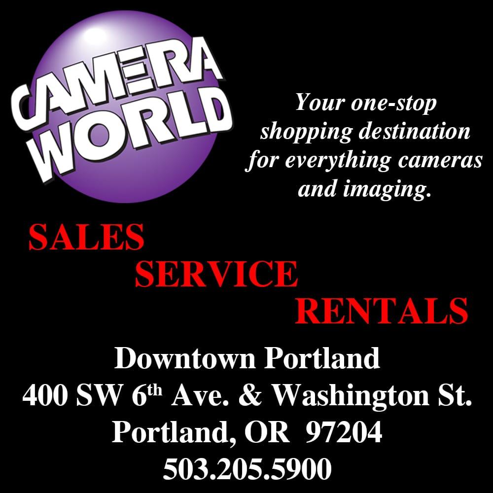 Photos for camera world yelp - Camera world portland ...