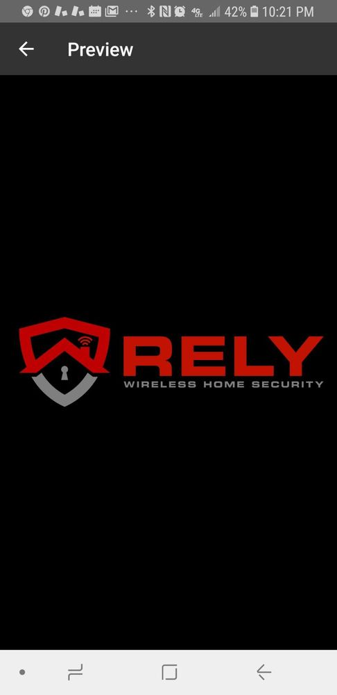 RELY Home Security