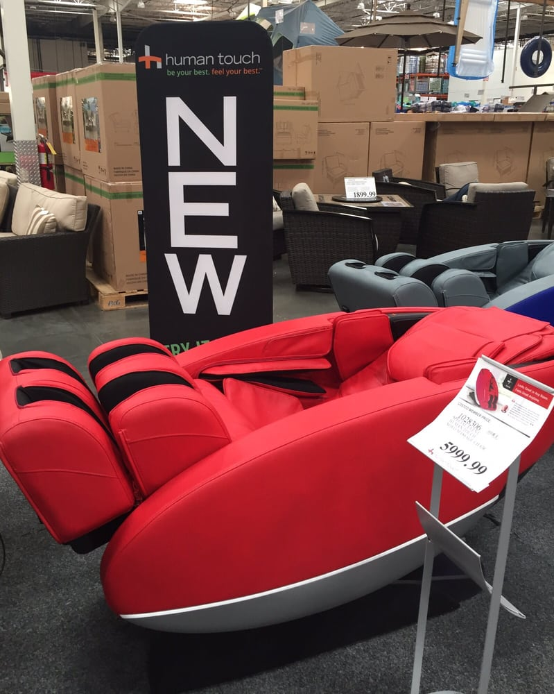 Special Event Human Touch Novo Massage Chairs At Costco This One