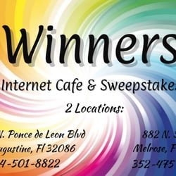 Winner's Internet Sweepstakes Cafe - CLOSED - Internet Cafes