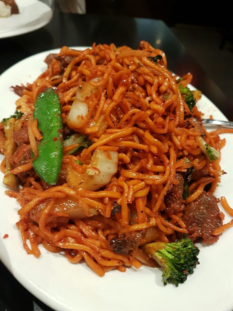 Manchurian Beef Chow Mein - Yelp