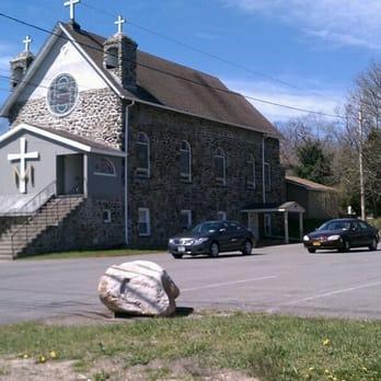 Photo of Assumption Church - Maybrook, NY, United States. Original church