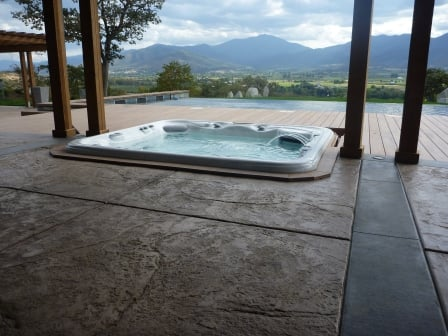 hot spring spas of southern oregon pool whirlpool. Black Bedroom Furniture Sets. Home Design Ideas
