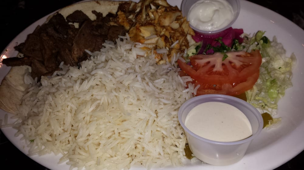 Chicken beef shawarma a mix of chicken beef shawarma for Aroma fine indian cuisine toronto on canada
