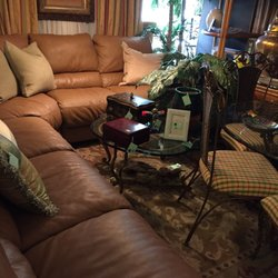Photo Of Coconut Consignment Company   Boca Raton, FL, United States.  Leather Sectional