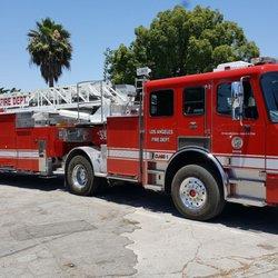 LAFD Fire Station 35 - 1601 Hillhurst Ave, Los Feliz, Los Angeles