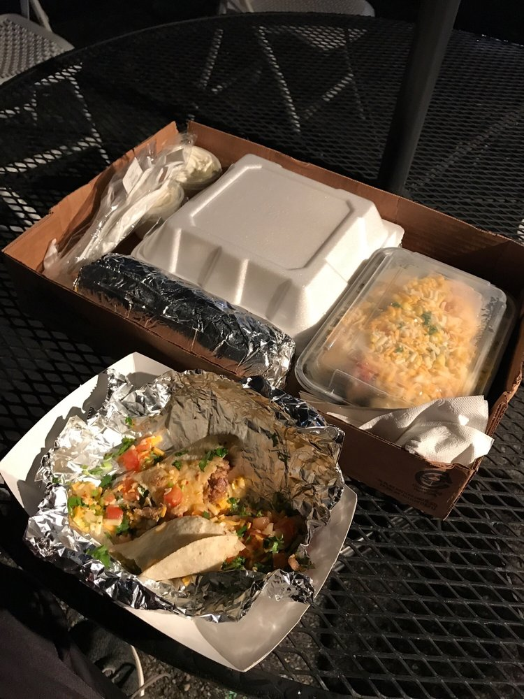 Food from Burritos Bro's