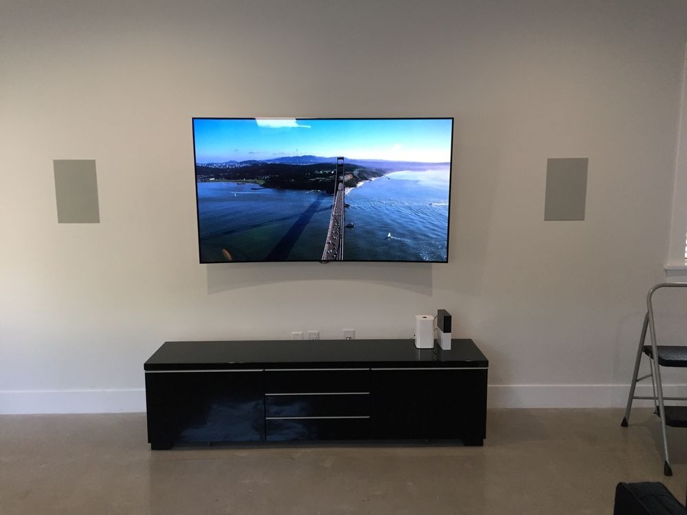 photo of galaxy home theatres glendale ca united states flush in